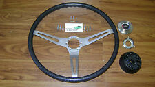 Comfort Grip Steering Wheel 16pc Kit *In Stock* Black Band Cushion 3-spoke