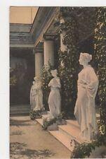 Achilleion Le Peristyle Corfou Vintage Postcard 137a