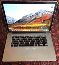 """Retina MacBook Pro 2013 15"""" 2.4ghz i7 16gb 256gb SSD Office Logic X Final Cut X"""