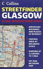 Map of Glasgow, Scotland, by Collins Map