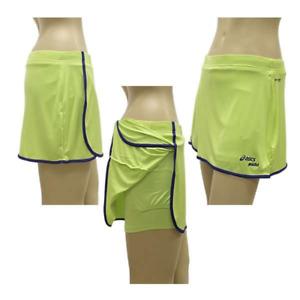 Asics Womens Tennis Skort Athlete Skort - Green - New