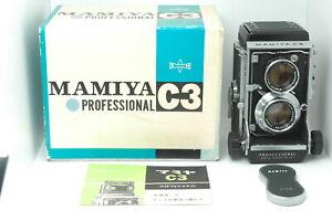 [Almost MINT] Mamiya C3 Pro TLR Medium Format 6x6 w/Sekor 105mm f/3.5 from JAPAN