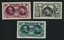 Romania 50th Anniversary of Independence 3v MH SG#1066-1068