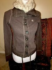 Size Small Abercrombie And Finch Brown Women's Knit Jacket