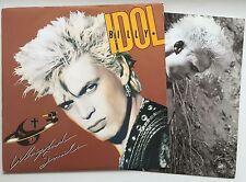 BILLY IDOL Whiplash Smile 1986 OZ Chrysalis EX/VG+