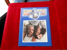 LEON & MARY RUSSEL~ ROAD SHOW~ MEGA RARE~ PROGRAM~ EXCELLENT SHAPE ~COLLECTABLES