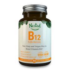 Vitamin B12 Quick Dissolve | 2500mcg Methylcobalamin | 90 Fast Dissolve Vegan