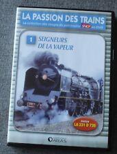 La passion des trains, seigneurs de la vapeur - vol 1 , DVD