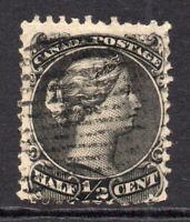 Canada 1/2 Cent Stamp c1882-97 Used (7730)
