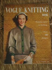 Original VOGUE-Vogue Knitting Book-Mi années 1950-VOGUE TRICOT Nº 46
