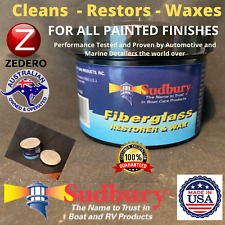 Heavy Duty Clean Polish Restore Wax Auto Car Marine Paint