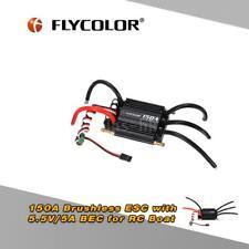 Flycolor Waterproof 150A Brushless ESC w/ 5.5V/5A BEC per RC Boat J4O0