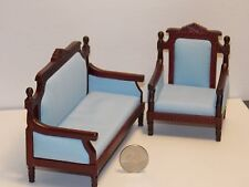Dollhouse Miniature Living Room Sofa Chair 1:12 inch scale G69 Dollys Gallery