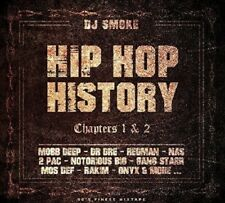 HIP HOP HISTORY CHAPTERS 1 & 2 (MOBB DEEP, DR. DRE, 2PAC,...)  2 CD NEUF
