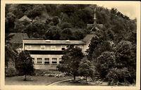 Wolfsburg Unkeroda Krs. Eisenach DDR AK 1957 Partie Gasthaus Eltegrund Gasthof