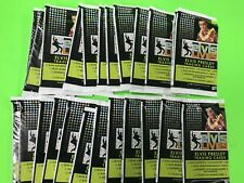 2006 ELVIS PRESLEY PRESS PASS ELVIS LIVES TRADING CARD 24 pack lot autos worn