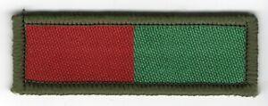 RLC Pioneer TRF Military British Army Woven Patch 6.3cm x 2.1cm