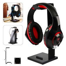 Universal Gaming Headset Holder Headphone Hanger Desk Display Shelf Stand Mount