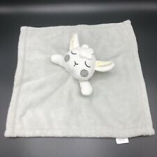 New listing Forever Vitamins Baby Lamb Sheep Lovey Security Blanket Gray Yellow Stars Flower