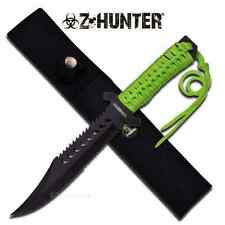 "11.5"" Z-Hunter FIXED BLADE KNIFE Hunting Hunter Combat Camping  Knives Zombie"