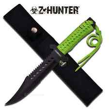 "11.5"" Z-Hunter FIXED BLADE KNIFE Hunting Hunter Combat Camping  Knives Zombie"