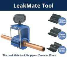 LEAKMATE EMERGENCY LEAK STOP TOOL RE-USABLE TEMPORARY SEAL 6 PIPE SIZES