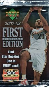 2006-07 Upper Deck 1st Edition Basketball Sealed Pack Possible Kevin Durant RC