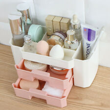 Makeup Organizer Storage Drawers Box For Ladies Cosmetics plastic holder case