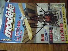 6µ?§ Revue Modele magazine n°581 Plan encarté Tiger Moth / Cupidon Quetzal