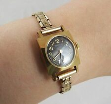 Mechanical (Hand-winding) Dress/Formal Square Wristwatches