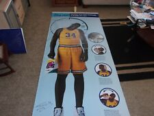 Shaquille O'Neal Signed Taco Bell Promo Vinyl Poster size 95x45 1997