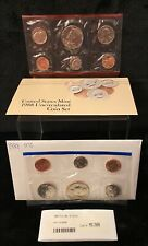 1988 US Unc Mint Set 10 Coins w/2Mint Tokens in Sealed Package Original Envelope