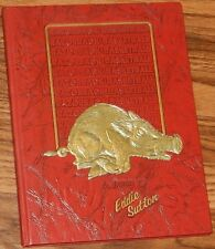 Razorback Basketball A TRIBUTE TO EDDIE SUTTON Rare HC w Raised Gold Letters