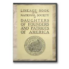 Lineage Book National Society Daughters of Founders & Patriots America - CD B483