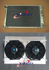 Aluminum radiator + Shroud + Fan for Ford AU Falcon 5.0 V8 / 4.0 6 cyl 1998-2002