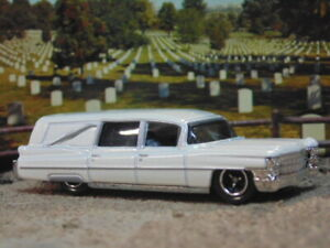 1963 Cadillac Hearse * Matchbox * White * New in Package