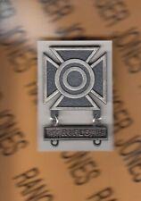 USA SHARPSHOOTER w/ RIFLE bar Marksmanship BRUSHED award badge clutchback c/b