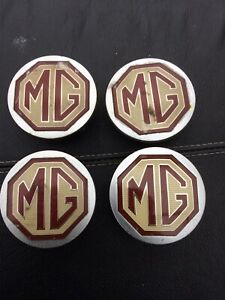 MG ALLOY WHEELS CENTRE CAPS X4 55m