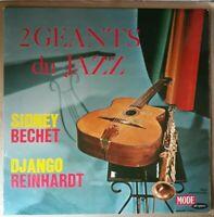 LP Sidney Bechet-Django Reinhardt - 2 Géants Du Jazz - 1964 Avec Languette (TBE)