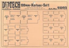 Deutsche Kartons - Set 1 WWII 1:16/120mm von DIOTECH
