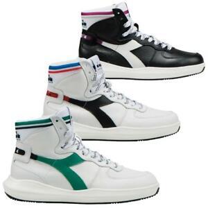 Diadora Heritage MI Basket H Leather MDS Hi Top Sneaker Sportschuhe Turnschuhe