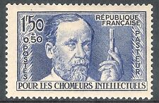 France 1936 Unemployed Intellectuals ultramarine 1f.50c + 50c mint SG566