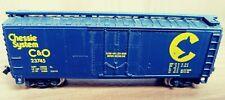 Vintage Atlas 3303 N Scale Chessie System 40 Ft. Plugdoor Box Car, Original box
