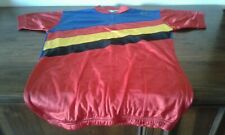 MAGLIA SHIRT VINTAGE CICLISMO CYCLING SANTINI OFFICIAL. BELGIQUE BELGIO FLAG