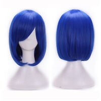 EE_ EG_ Women Girl Cosplay Wig High-Temperature Fiber Straight Short Anime Hair