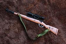 1/6 1:6 WW2 PUBG German Kar 98k Sniper gun BattleField4 Battleground Metal RED木