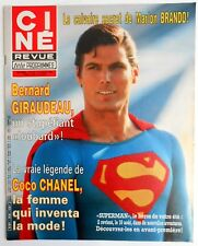 ►CINE REVUE 29/1983-CHRISTOPHER REEVE-BERNARD GIRAUDEAU-LINE RENAUD-COCO CHANEL