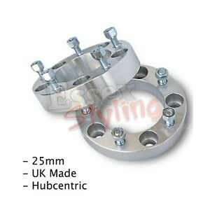 Honda Accord 2003-2008 5x114.3 64.1 25mm Hubcentric Wheel Spacers 1 Pair ALLOY