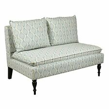 Banquette - Upholstered Blue/cream Pattern by Pulaski