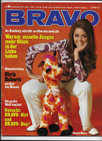 BRAVO Nr.40 vom 28.9.1970 Wencke Myhre, Chris Roberts, Peggy Lipton, Lex Barker